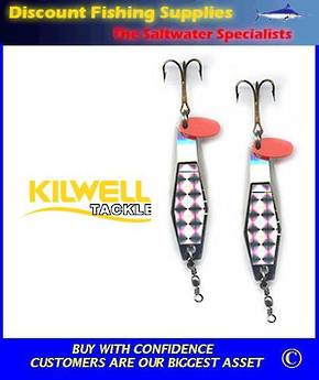 Kilwell Hex Wobbler Spinner 20gr - TWIN PACK