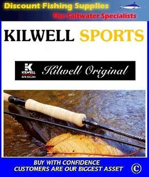 Kilwell Original Graphite Fly Rod #6/7 - 9' - 2pc