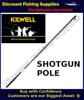 Kilwell NZ Shotgun Rigger 2.5m Straight Black