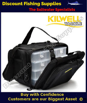 Kilwell Tackle Tote Midi 4 Box - Soft Tackle Bag