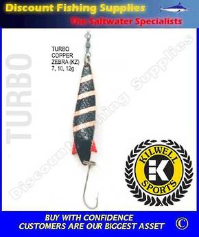 Kilwell Spinner - Turbo Copper Zebra 7g