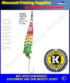 Kilwell Spinner - Turbo Traffic Light 7g