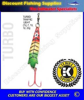 Kilwell Spinner - Turbo Traffic Light 20g (Treble)
