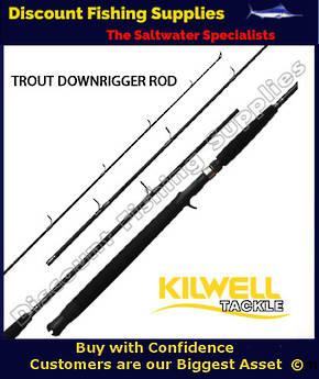 Kilwell XP 762 2-5kg Downrigger Rod