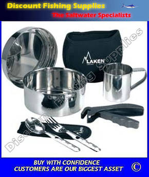 Laken Stainless Steel Cookset