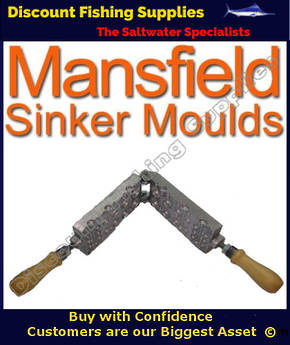 Sinker Mould - Ball Sinker combination Hinged - 0.25 to 1.5oz (012)