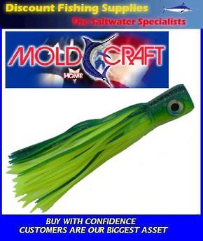 Mold Craft Senior Super Chugger - Green/Yellow - 35