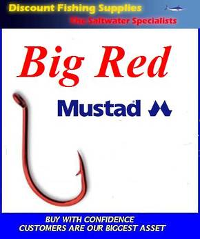 Mustad Big Red Hook Small Pack