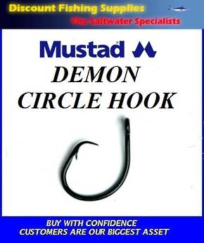 Mustad Demon Circle Hooks - small pack