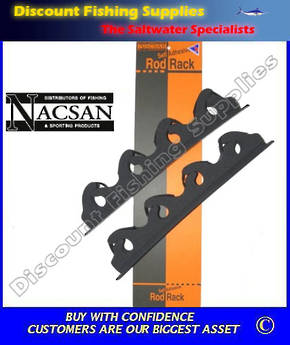 Nacsan Self Adhesive Backed Rod Rack