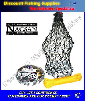 Nacsan Collapsible Berley Cage - Large