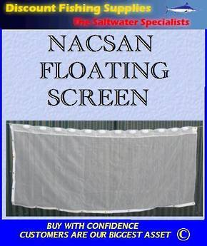 Nacsan Floating Whitebait Screen 2.3m