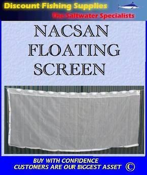 Nacsan Floating Whitebait Screen 2.3m