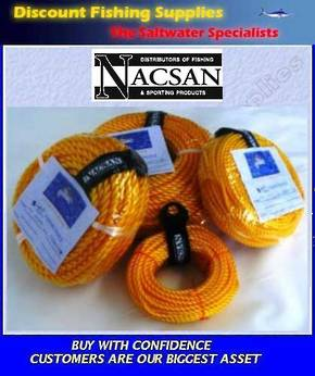 Nacsan PP Rope Pack - 8mm X 50m