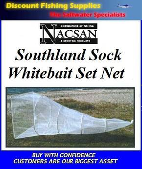 Nacsan Southland Sock 5 Ring Whitebait Setnet