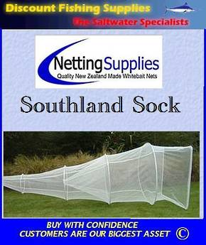 Southland Sock Set Net - KIWI MESH GREY MESH