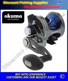 Okuma Andros 5 Single Speed Lever Drag Jigging Reel