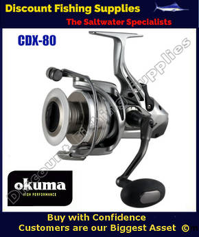 Okuma Coronado CDX-60 Baitfeeder Spin Reel
