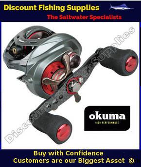Okuma Komodo 364LX Baitcaster LEFTHAND Reel
