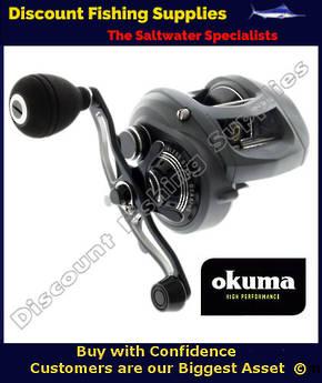 Okuma Komodo 364 SS Baitcaster Reel With Power Handle