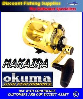Okuma Makaira 80W IISpeed Game Reel