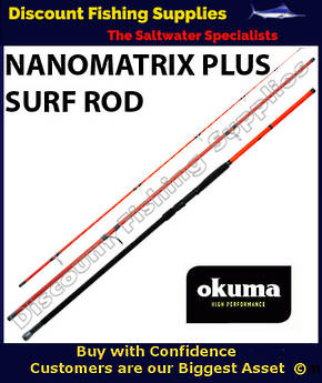 Okuma NanoMatrix Plus Rock Rod 10' 10-24kg 3pc