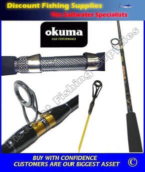 """Okuma Sensor Tip Plus 6'6"""" 10kg Boat Rod"""