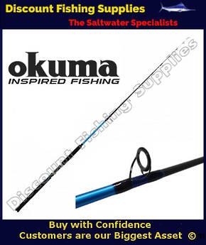 "Okuma Sensor Tip 6'6"" 10kg Spin Rod"