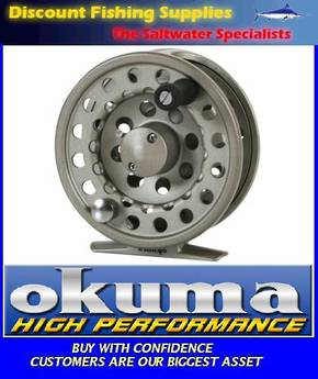Okuma SLV Super Large Arbor Alumilite Fly Reel 8/9