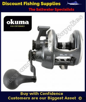 Okuma Solterra SLX 15CS High-Speed Casting Reel