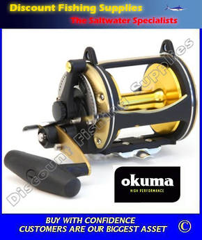 Okuma Solterra 50W 2 Speed Game Reel