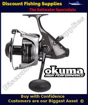 OKUMA REEL BAITFEEDER TOMCAT TCBF-18000