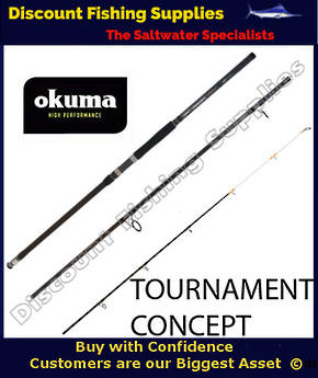 Okuma Tournament Concept Surf Rod 14' 3pc