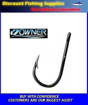 Owner JOBU Game Hook 10/0 with CUTTING POINT X 2