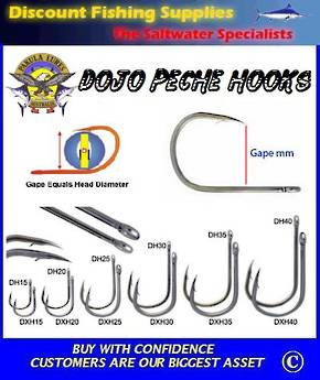 Pakula Dojo Hook HX 25mm - 4 Pack