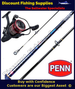 Penn Fierce II 4000 Liveliner / Spinfisher 8kg Combo