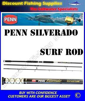 Penn Silverado PSV1303 Surf Rod 13' - 3pc