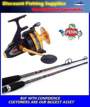 Penn Spinfisher 850 / Powerstick Strayline Combo 8-10kg