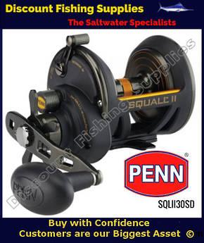 Penn Squall II 30 Star Drag Overhead Reel