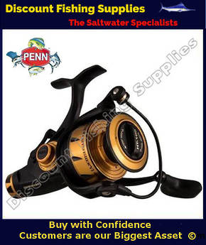 Penn Spinfisher VI Live Liner VI 4500 LL, Bait Feeder Fishing Reel (Waterproof)