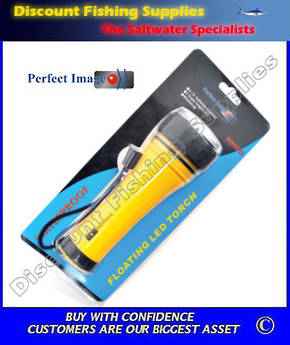 Perfect Image Floating Led Torch 2 X D Batteries