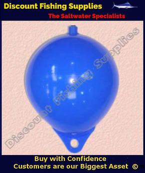 """PVC Cray Float 10"""" (Heavy Duty) BLUE"""