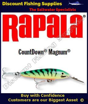 "Rapala CD14 Sinking Magnum - 5&1/2"" Firetiger"