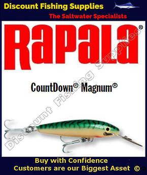 "Rapala CD18 Sinking Magnum - 7"" Green Mackerel"