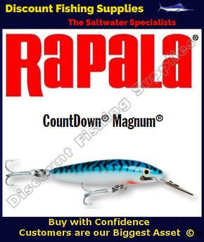"Rapala CD14 Sinking Magnum - 5&1/2"" Silver Mackerel"