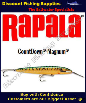 "Rapala CD22 Sinking Magnum - 9"" Green Mackerel"