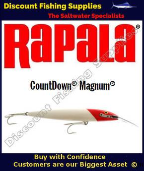 "Rapala CD22 Countdown Sinking Magnum - 9""  Redhead"