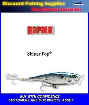 "Rapala Saltwater Skitter Pop 4-3/4"" Mullet"
