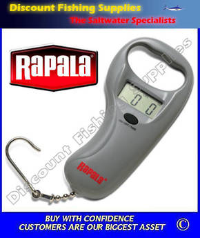 Rapala Sportsman 25kg Digital Scale