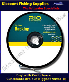 Rio Fly Line Backing 20lb Chartreuse